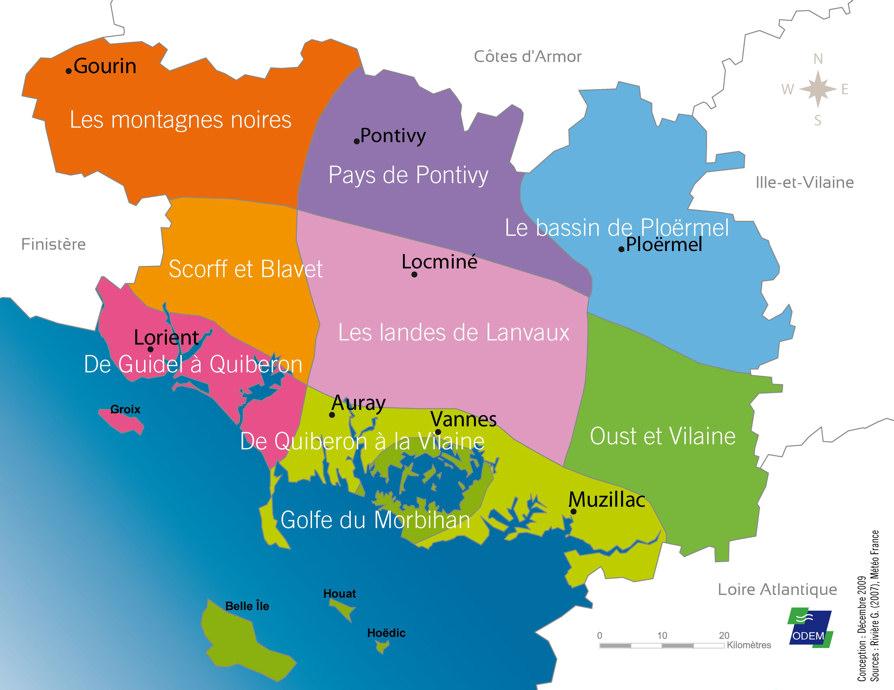 Conseil départemental du Morbihan   Environnement   Atlas de l